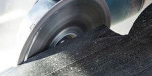 Topfschleifer zum abschleifen von Granit