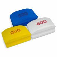 Diamant-Handschleifpad Set 3-tlg. Körnung 300+400+600