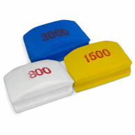 Diamant-Handschleifpad Set 3-tlg. Körnung 800+1500+3000