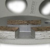Diamant-Topfschleifer Classic doppelreihig Ø 125 mm Aufnahme 22,2 mm Bauhöhe 22 mm