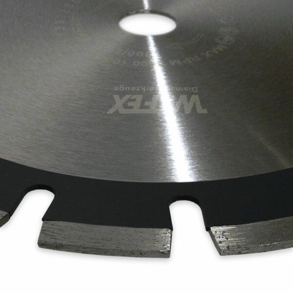 Premium Diamanttrennscheibe mit Laser-Segment 115 mm bis 700 mm Durchmesser