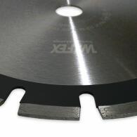 Diamant-Trennscheibe Laser-Asphalt 15 mm Segment Ø 450 mm Aufnahme 25,4 mm
