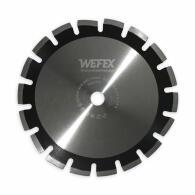 Diamant-Trennscheibe Laser-Asphalt 15 mm Segment Ø 600 mm Aufnahme 25,4 mm