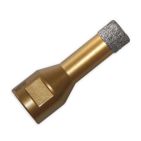 Diamant-Fliesenbohrkrone Vakuum-Profi Ø 14 mm M14