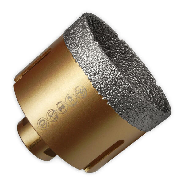 Diamant-Fliesenbohrkrone Vakuum-Profi Ø 73 mm M14
