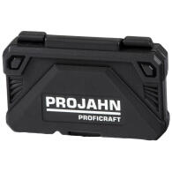 "PROJAHN proficraft Steckschlüssel-Koffer 1/4"" 46-tlg. inkl. 48-Zahn Umschaltknarre"