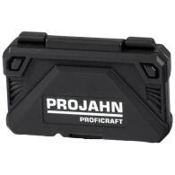 "PROJAHN proficraft Steckschlüssel-Koffer 1/4"" 46-tlg. inkl. 72-Zahn Umschaltknarre"