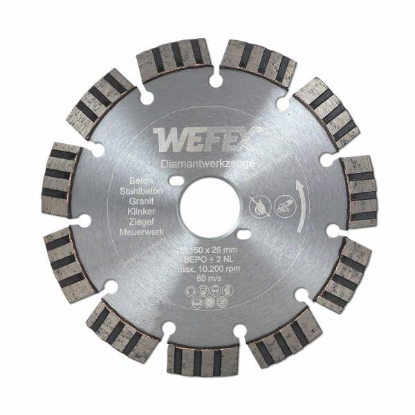 10 tlg Diamant Trennscheiben 125 mm für Nass-// Trockenschnitte