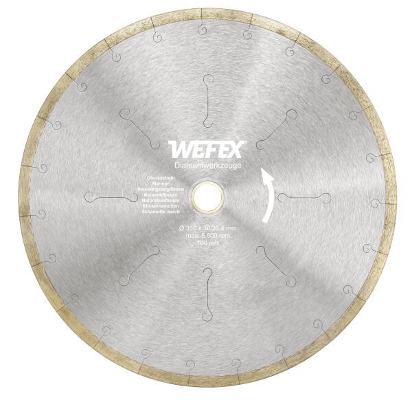 Diamant-Trennscheibe Keramik-Premium Ø 350 mm Aufnahme 30/25,4 mm