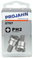 "PROJAHN Plus 1/4"" Bit PH2 Phillips Nr. 2 mit..."