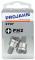 """PROJAHN Plus 1/4"""" Bit PH2 Phillips Nr. 2 mit Tiefenstopp 25 mm 2er-Pack"""