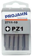 """PROJAHN Plus 1/4"""" Bit PZ1 L25 mm Pozidriv Nr. 1..."""