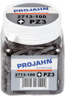 """PROJAHN Plus 1/4"""" Bit PZ3 L25 mm Pozidriv Nr. 3..."""