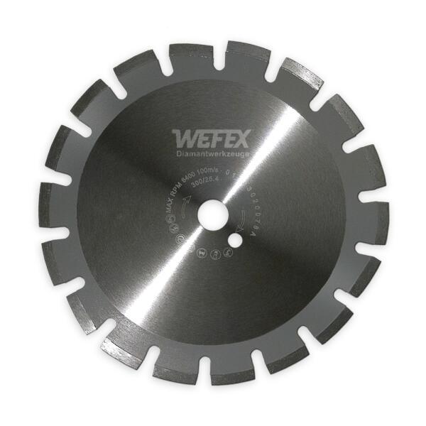 Diamant-Trennscheibe Laser-Asphalt Ø 600 - 800 mm Aufnahme 35,0 mm
