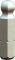 """PROJAHN Plus 1/4"""" Bit Innensechskant Kugelkopf 1,5 mm L25 mm 10er-Pack"""