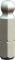 """PROJAHN Plus 1/4"""" Bit Innensechskant Kugelkopf 3,0 mm L25 mm 10er-Pack"""