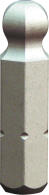 """PROJAHN Plus 1/4"""" Bit Innensechskant Kugelkopf 4,0 mm L25 mm 10er-Pack"""