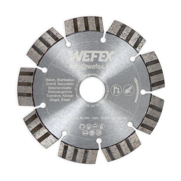 Diamant-Trennscheibe Laser-Turbo Ø 115 - 230 mm Aufnahme 22,2 mm