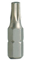 """PROJAHN Plus 1/4"""" Bit TORX® TX T15W konisch L25 mm 10er-Pack"""