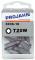 """PROJAHN Plus 1/4"""" Bit TORX® TX T20W konisch L25 mm 10er-Pack"""