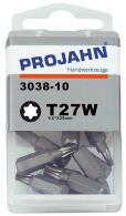 """PROJAHN Plus 1/4"""" Bit TORX® TX T27W konisch L25..."""