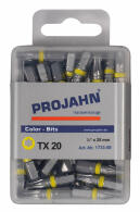 PROJAHN Color-Ring 1/4 markierter Bit TORX® TX20 L25 mm...