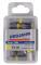 """PROJAHN Color-Ring 1/4"""" markierter Bit TORX® TX30 L25 mm 10er-Pack"""