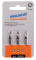 "PROJAHN Color-Ring 1/4"" markierter Bit TORX® TX15 mit Bohrung L25 mm 3er-Pack"