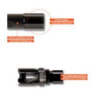 PROJAHN PROLUMAX Cree®-Power-LED-Stabtaschenlampe...