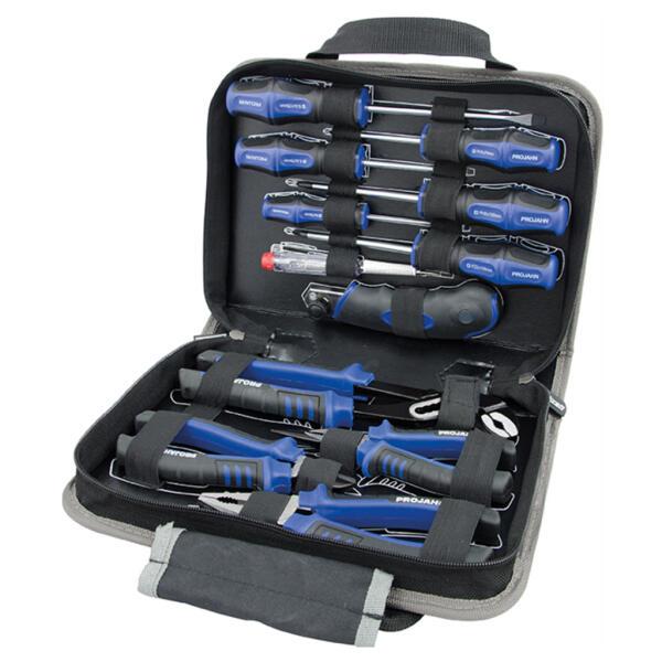 PROJAHN proficraft Werkzeugmappe Universal 12-tlg.