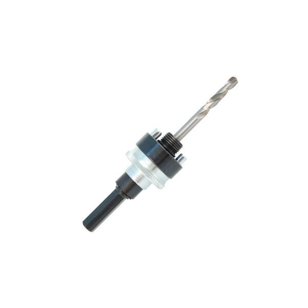 PROJAHN Quick-Lock Adapter Sechskant SW 9 für Multi Lochsäge Ø 32 - 127 mm