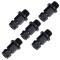 PROJAHN Schnellwechsel-Adapter Verbindungsstück 5er Pack für Lochsägen Ø 14 - 30 mm