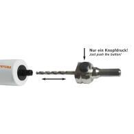 PROJAHN Schnellwechsel-Adapter SDS-plus für Bi-Metall Lochsäge Ø 14 - 210 mm