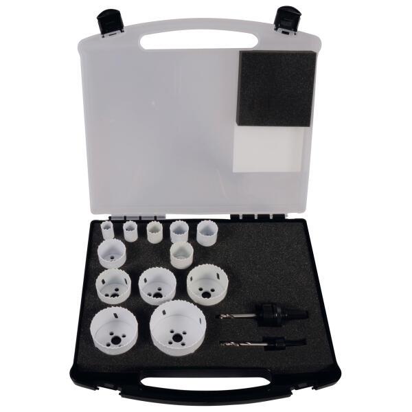 PROJAHN HSS-Co Bi-Metall Lochsägen Set Spezial 14-tlg. im Koffer