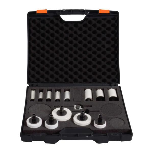 PROJAHN HSS-Co Bi-Metall Lochsägen Set Universal-Flexibel 14-tlg. im Koffer
