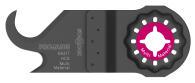 PROJAHN Universalmesser Multi-Material 24 x 11 mm...