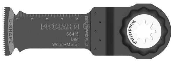 PROJAHN Tauchsägeblatt Holz/Metall 32 x 60 mm STARLOCK Plus Aufnahme