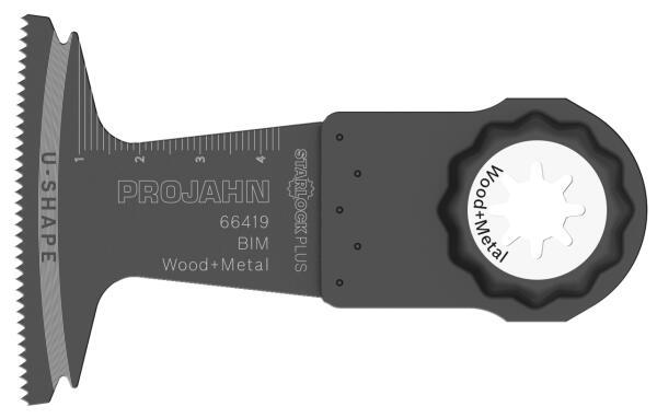 PROJAHN Tauchsägeblatt Holz/Metall 65 x 50 mm STARLOCK Plus Aufnahme