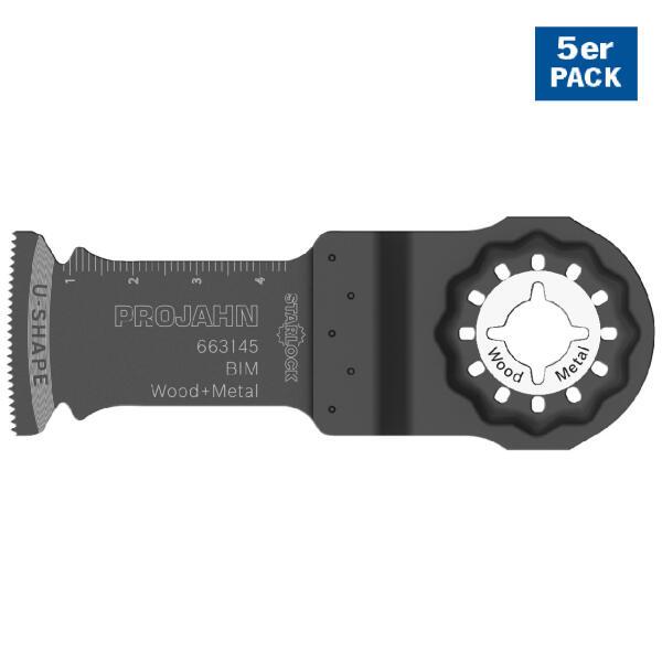 PROJAHN Segmentsägeblatt Holz/Metall 32 x 50 mm STARLOCK-Aufnahme 5er Pack
