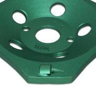 Diamant-Schleifteller PKD-Cup 4 Segmente Ø 125 mm...