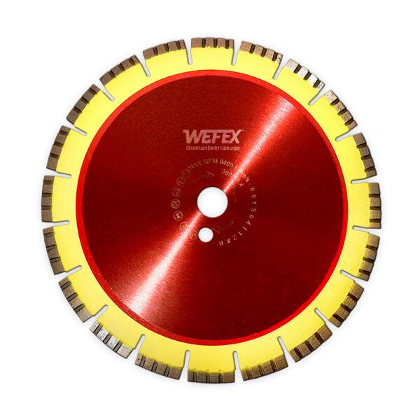 Diamant-Trennscheibe Flüster-Blatt Beton Ø 150 mm Aufnahme 22,2 mm