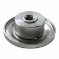 Diamant-Trennscheibe/Anfasscheibe Kombi-Profi Ø 125 mm Aufnahme 22,2 mm + Stützscheibe für Skolan/PP Rohre