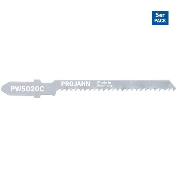 PROJAHN Stichsägeblatt Holz/Kunststoff 50 mm mit Einnockenschaft 5er Pack
