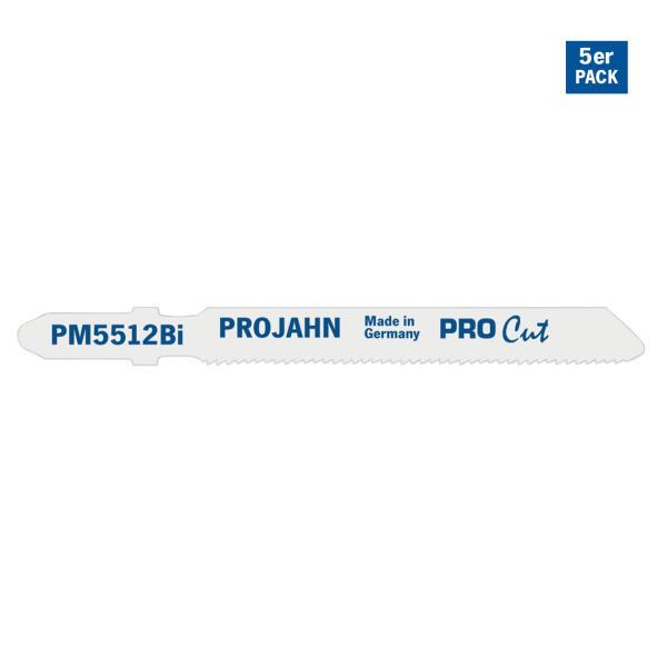 PROJAHN Stichsägeblatt Metall 55 mm mit Einnockenschaft 5er Pack