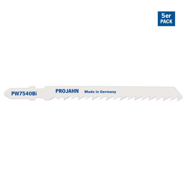 PROJAHN Stichsägeblatt Holz 75 mm mit Einnockenschaft 5er Pack
