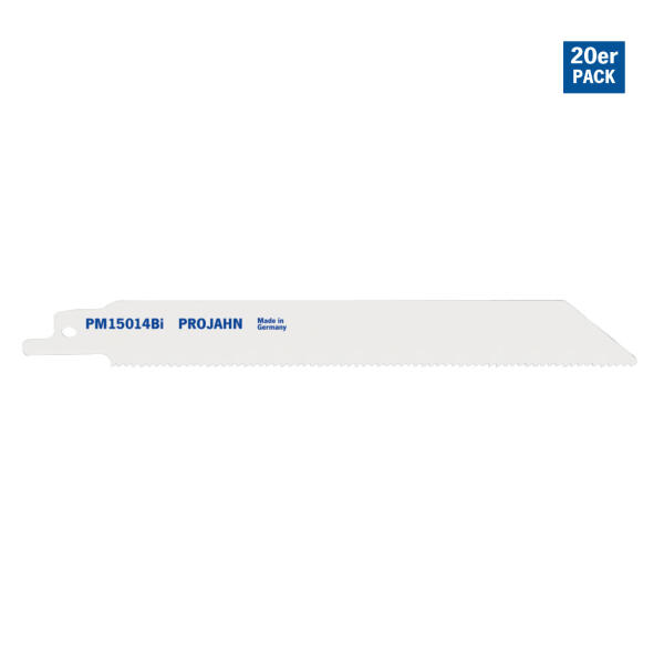 PROJAHN Säbelsägeblatt Metall 130 mm mit Universalschaft 20er Pack