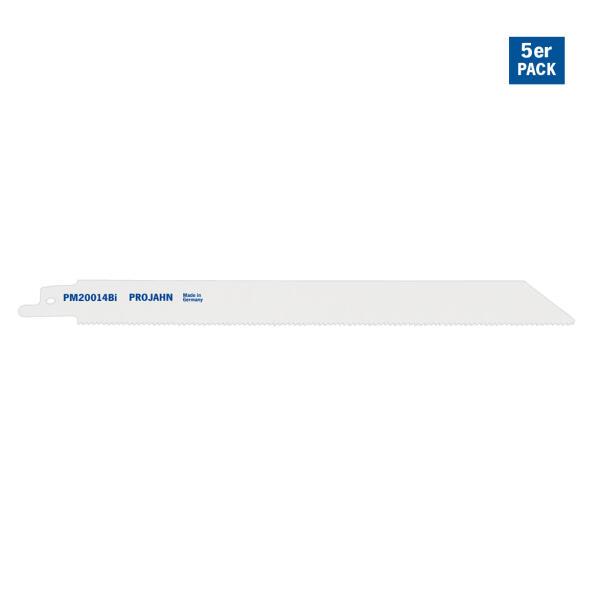 PROJAHN Säbelsägeblatt Metall 180 mm mit Universalschaft 5er Pack
