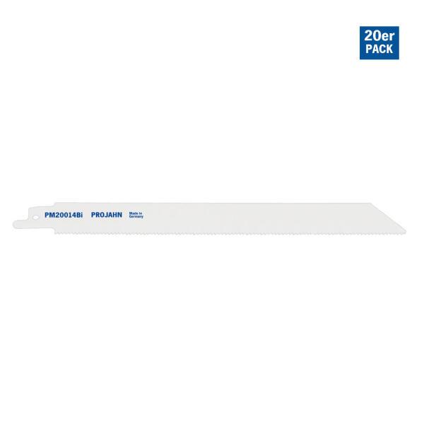 PROJAHN Säbelsägeblatt Metall 180 mm mit Universalschaft 20er Pack
