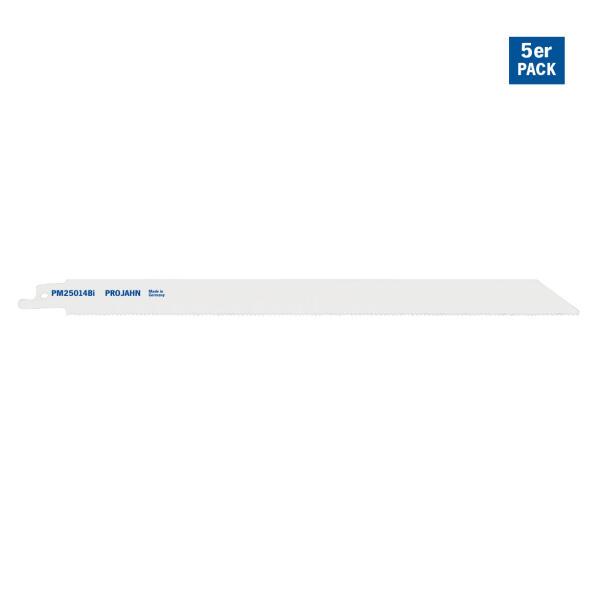PROJAHN Säbelsägeblatt Metall 230 mm mit Universalschaft 5er Pack