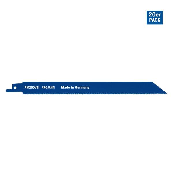 PROJAHN Säbelsägeblatt Holz/Metall 180 mm mit Universalschaft 20er Pack